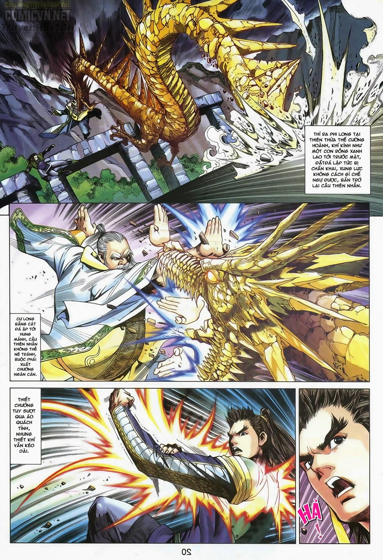 Anh Hùng Xạ Điêu anh hùng xạ đêu chap 67: quyết chiến hiên viên đài trang 19