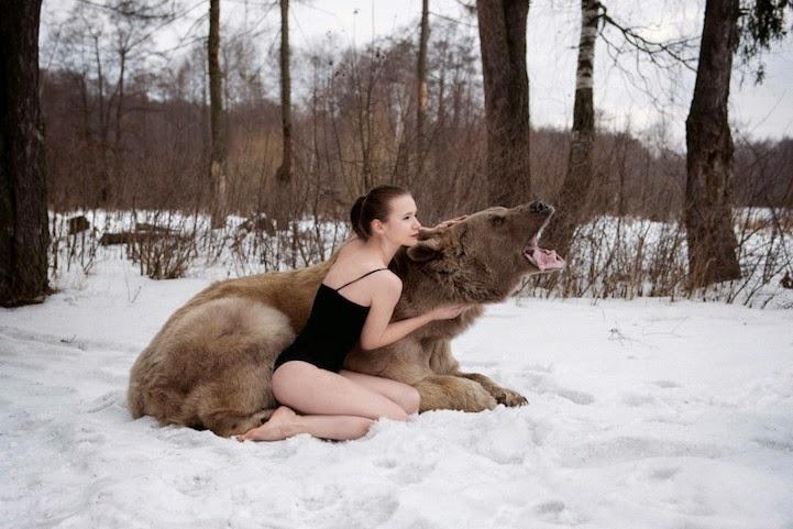 bizarre photo shoot