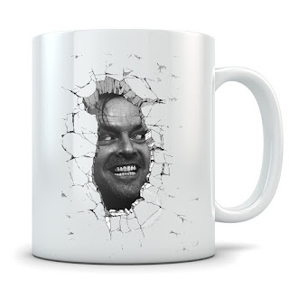 The Shining, Here's Johnny, Coffee Mug, Stephen King Coffee Mugs, Stephen King Store