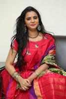 Manasa in Pink Salwar At Fashion Designer Son of Ladies Tailor Press Meet Pics ~  Exclusive 42.JPG