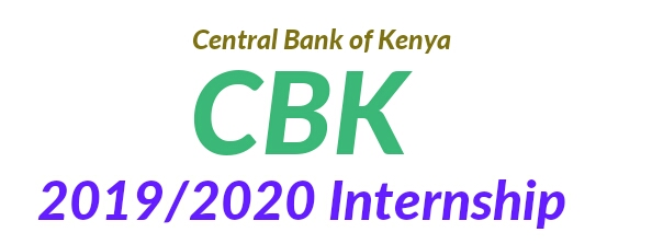 CBK internship opportunities 2019