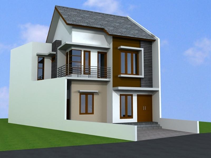 Gambar Rumah Bertingkat Desain Gambar Furniture Rumah