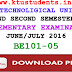 Question Paper for Introduction to Computing and Problem Solving(BE101-05)-Supplementary Examination June/July 2016