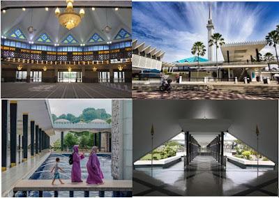 Negra Mosque in Kuala Lumpur