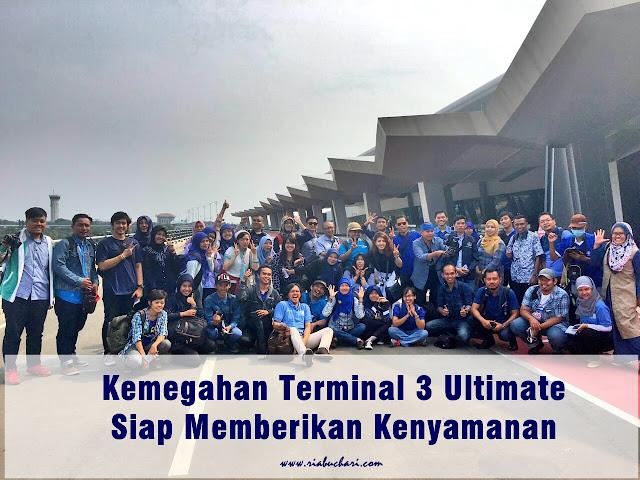 Kemegahan Terminal 3 Ultimate, Siap Memberikan Kenyamanan