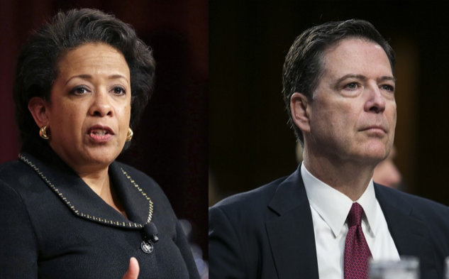Memo: James Comey said Eric Holder 'smarter and more sophisticated and smoother' than Loretta Lynch