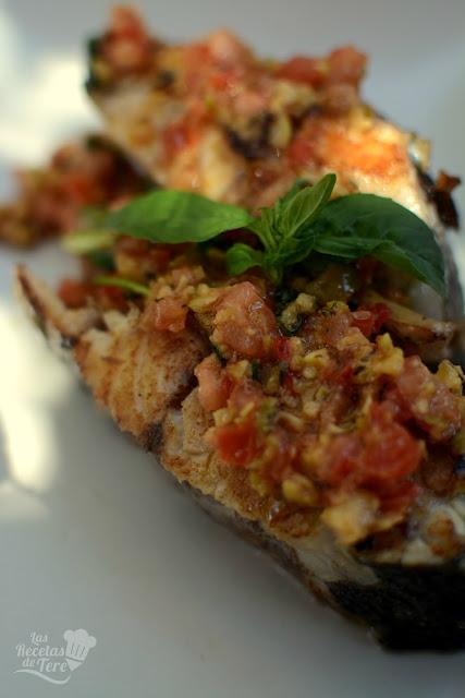 corvina a la plancha con vinagreta mediterranea las recetas de tere 05