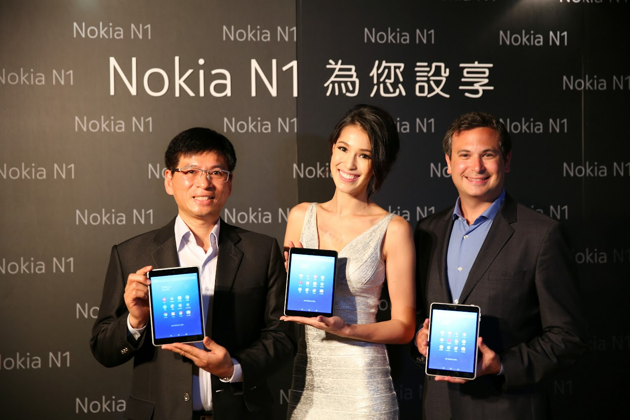 Nokia N1平板登台!訴求高規低價,9千元有找