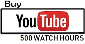 BUY YOUTUBE 500 WATCH HOURS INSTANTLY
