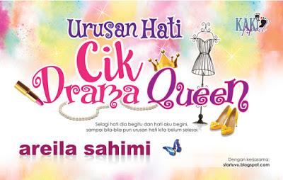 Novel Urusan Hati Cik Drama Queen karya areila sahimi