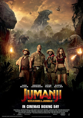 Win a double pass to see Jumanji at the cinema