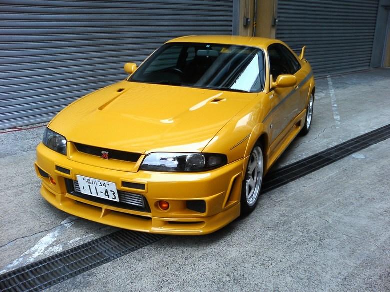 Midnight Garage Bodykit Centre Nissan Skyline R33 400r