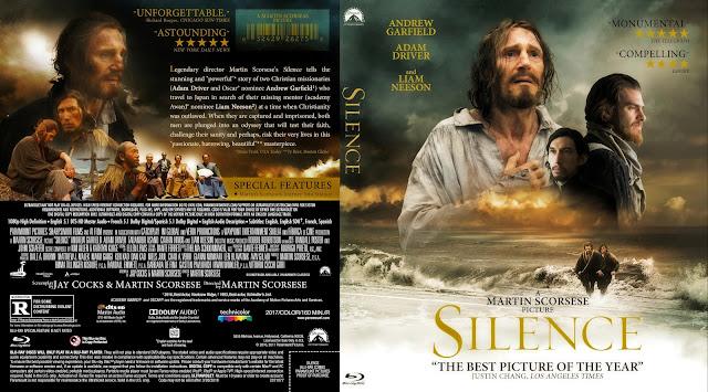 Silence Bluray Cover
