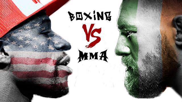 Conor Mcgregor Dapat Restu Dari UFC Menantang Jawara Boxing Floyd Mayweather Jr Di Ring Tinju