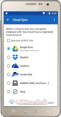 Password Manager SafeInCloud APK keep your logins, passwords, and other private info safe and secure in an encrypted database, Free Android Cloud Security App Full Latest Version Download
