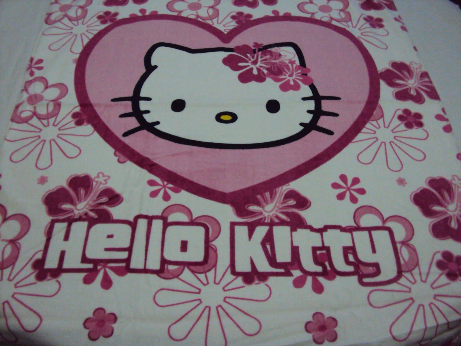 h kitty shop serviette drap de plage drap de bain hello kitty. Black Bedroom Furniture Sets. Home Design Ideas
