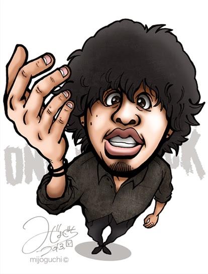 ONE OK ROCK(Takaさん)の似顔絵