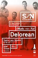 Concierto de Delorean en el Teatro Lara