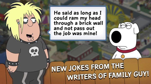 Family Guy The Quest for Stuff Mod Apk Unlimited Money Terbaru