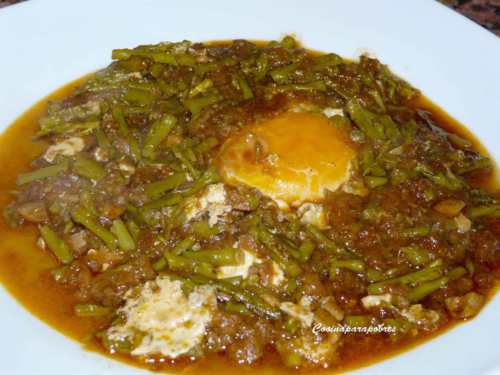 Cocina para pobres esp rragos esparragados - Comidas con esparragos ...