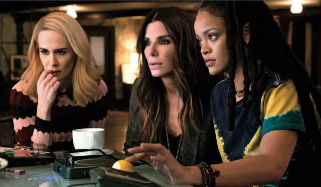 WATCH: OCEAN'S 8 Main Trailer Takes the Girls Center Stage