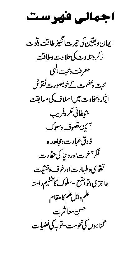 Islamic Inspiring Faith Moral Stories Urdu Book