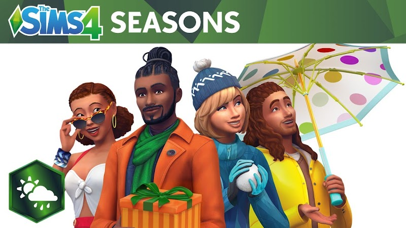 THE SIMS 4 UPDATE SEASONS EXPANSION