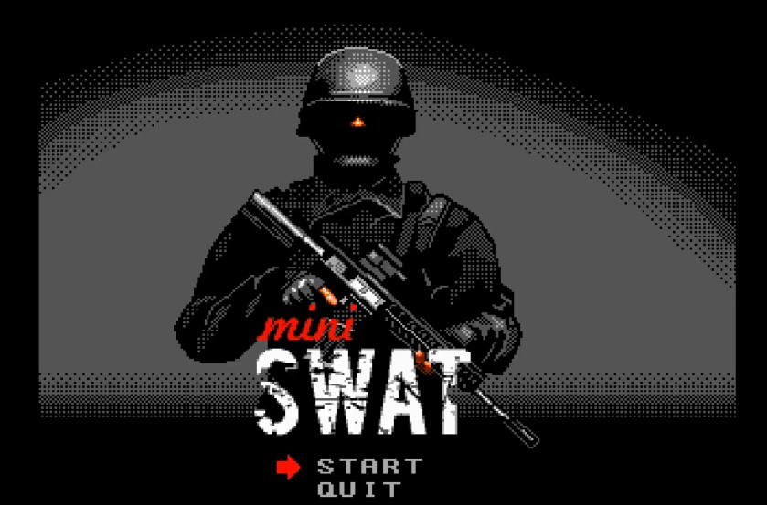 Indie Retro News Mini Swat Demo Top Down Shooter Teased For The Amiga