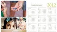 Modelli di calendari Word, Excel o PDF del 2020