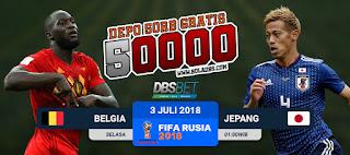 belgia vs jepang piala dunia 3 juli 2018