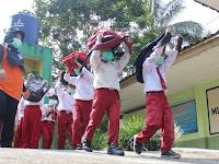 Sekolah Berdampak  Merapi Dilatih Mitigasi Bencana