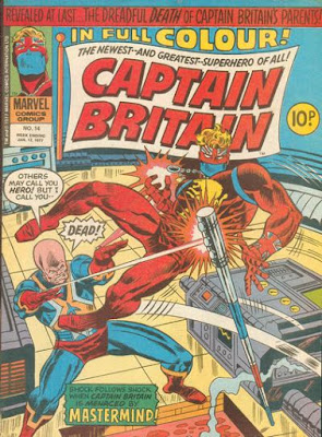 Marvel UK, Captain Britain #14