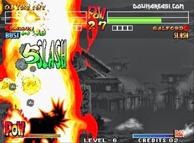 samurai shodown iv kazuki game