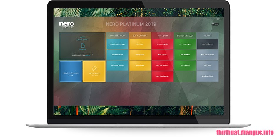Download Nero Platinum 2019 Suite v20.0.06800 Full Cr@ck