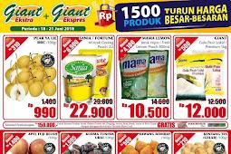 Katalog Promo Giant Weekday Terbaru 18 - 21 Juni 2018