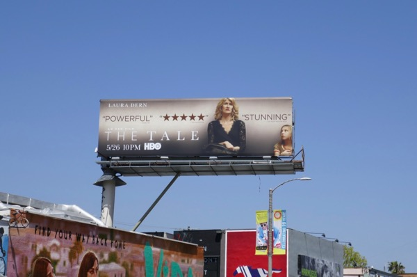 The Tale film billboard