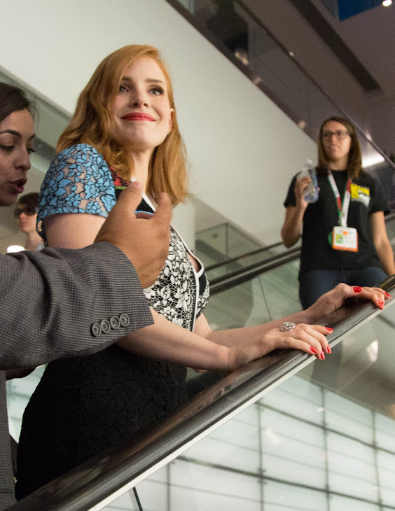 Photo: San Diego Comic Con of Jessica Chastain