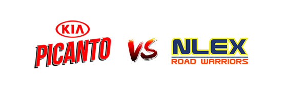 Kia Picanto vs NLEX Road Warriors