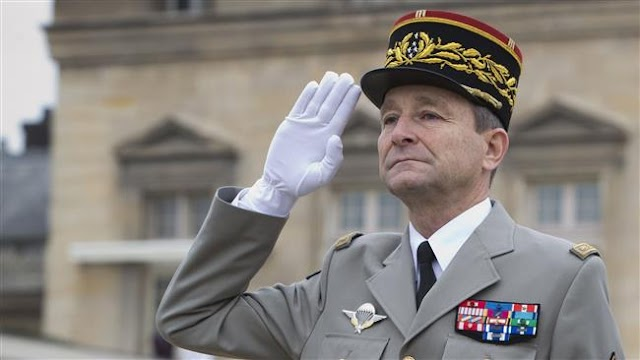 French Army Chief of Staff General Pierre De Villiers resigns over dispute with President Emmanuel Macron