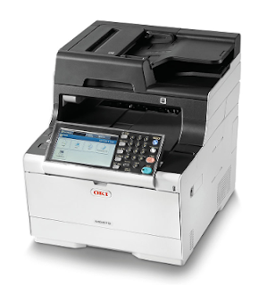 Printing file is too a large challenge for a modern printer OKI MC573dn Driver Download
