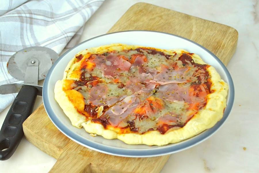 Pizza sin horno ¡En sartén!