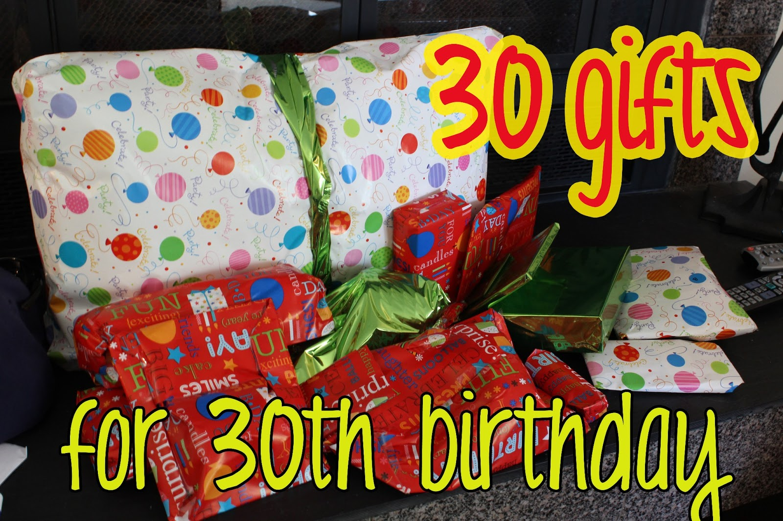 Creative 30Th Birthday Gift Ideas For Him