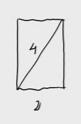 5.Área de un rectángulo (conocida la longitud de un lado y de su diagonal)