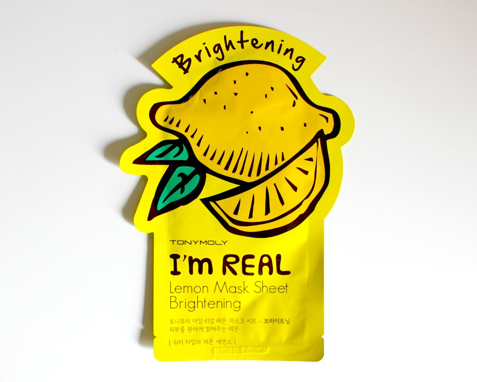 Tony Moly I'm Real Lemon Mask Sheet