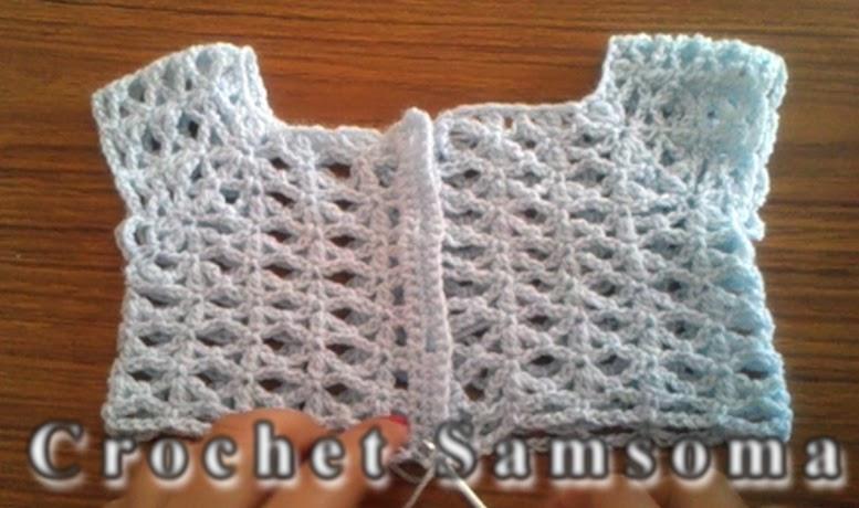 5711c354c3bee مقاسات الصدر المربع في الكروشيه لمختلف الاعمار « Crochet Samsoma