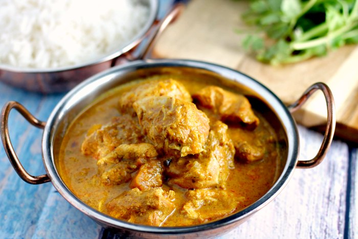 Slow Cooker Chicken and Sweet Potato Korma