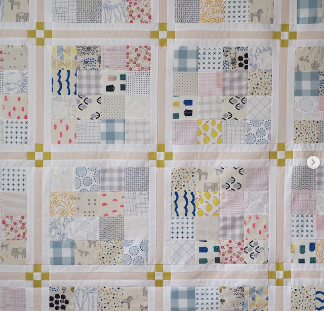 Woodberry Way Announcing Chamomile Quilt Along