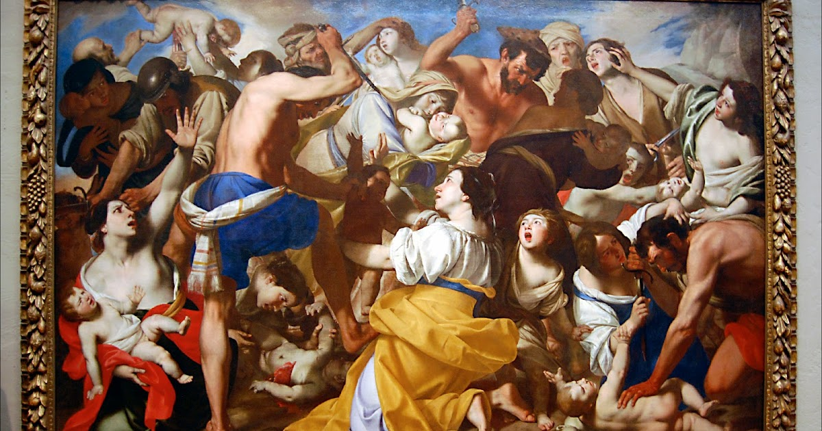 A review of pacecco de rosas painting the massacre of the innocents