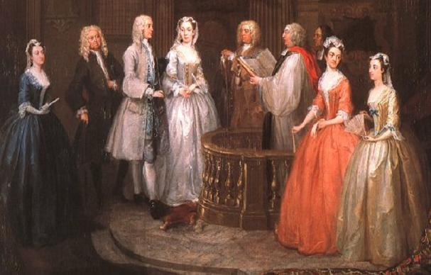 british literature wiki social and family life in the lateth  18th century wedding ceremony