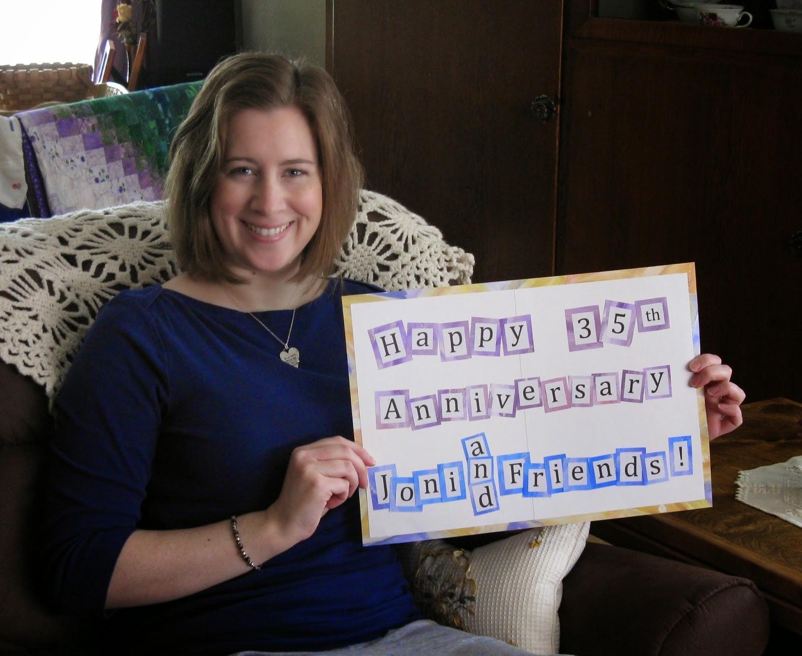Happy 35th Anniversary, Joni and Friends!